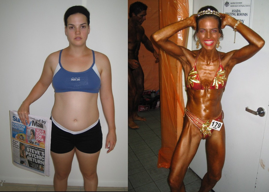 Women Body Transformations Before and After