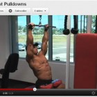 Lost Workout Footage!  Lat Pull Downs Max-OT Style