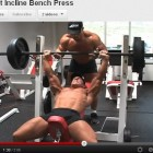 Lost Workout Footage &#8211; Incline Bench Press