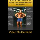 Body Transformation Q&A Seminar Video On Demand