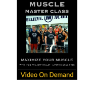 Muscle Master Class Video on Demand!